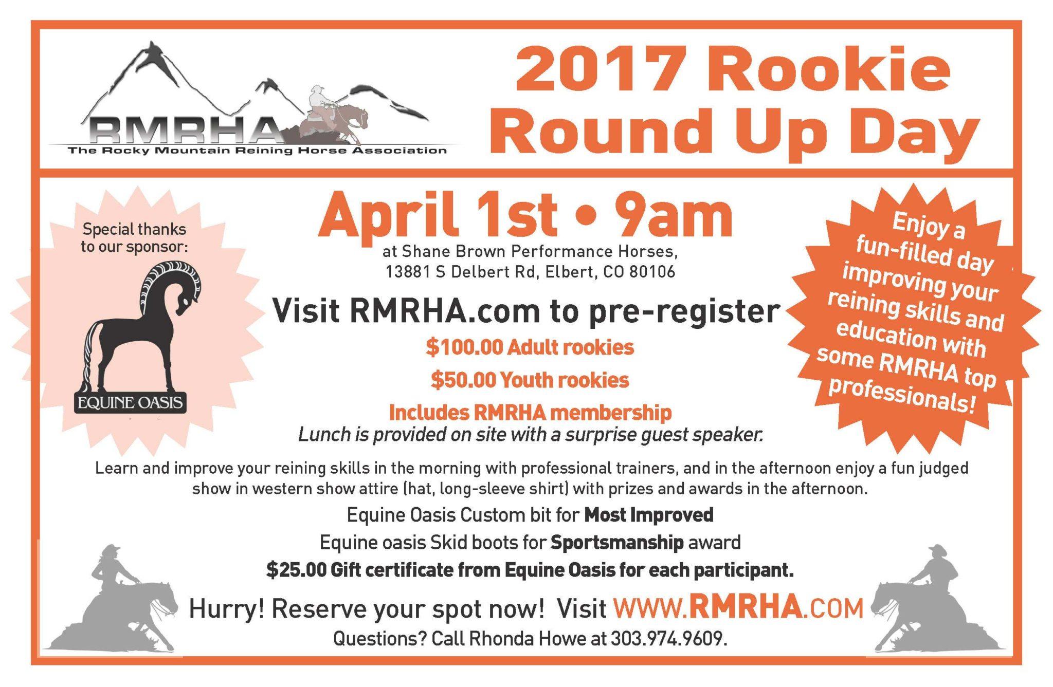 2017 RMRHA Rookie Roundup