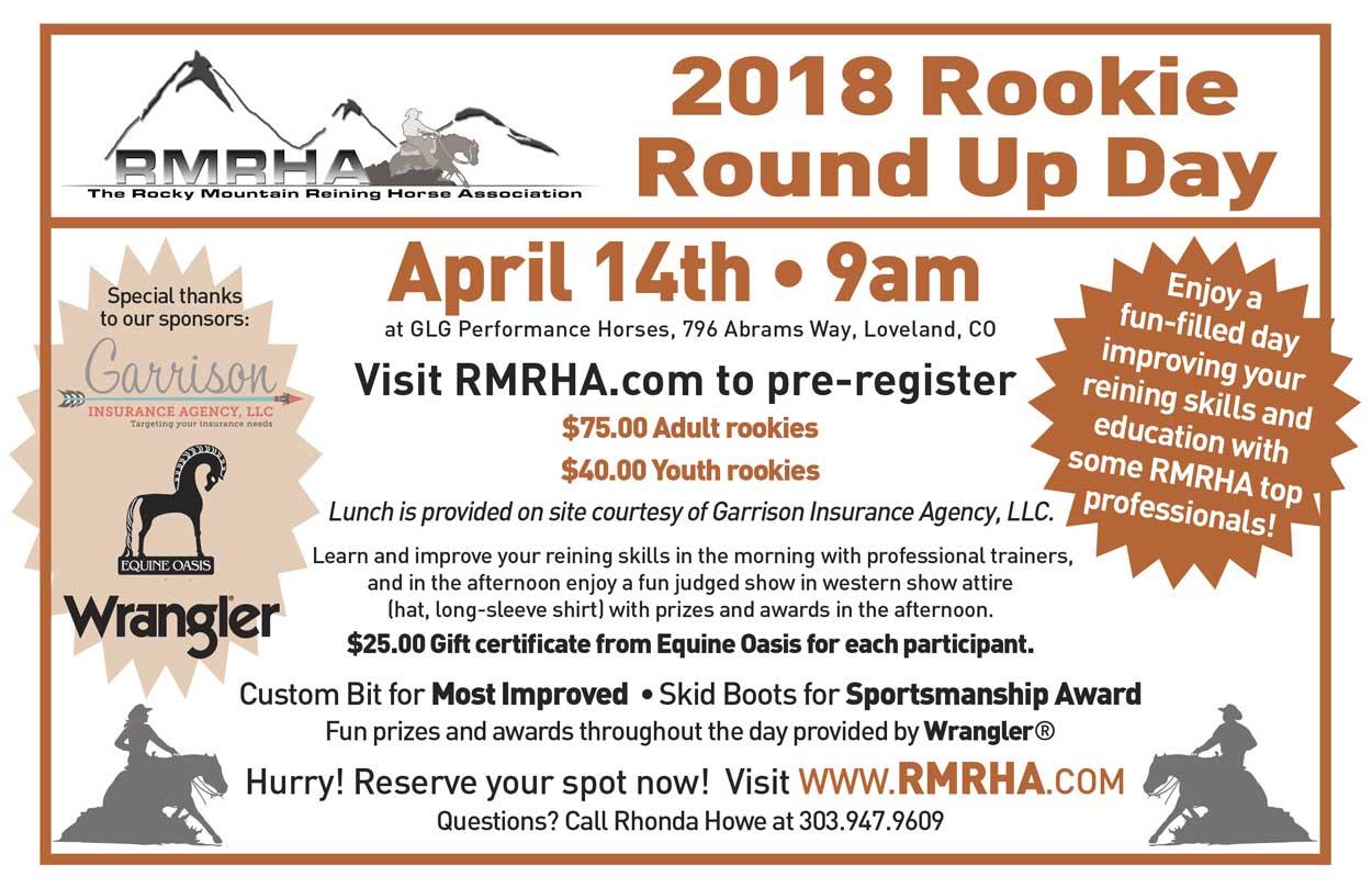 2018 RMRHA Rookie Roundup.