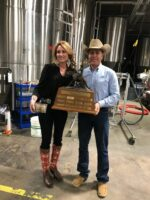 Rookie Traveling Trophy Recipient Desiree Hardin
