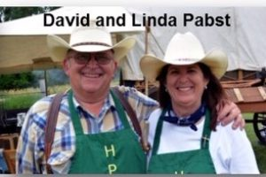 Delicious food from David and Linda Pabst