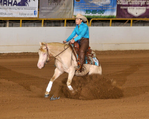 2020 Summer Slide Non Pro Champion Dirty Diamonds ridden by Sheley Brien